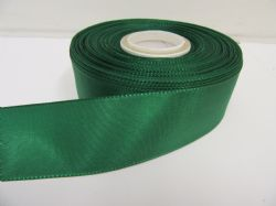 Forest Dark Green Taffeta ribbon, 2 metres, Double sided, 8mm 15mm 25mm 40mm Rolls